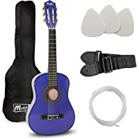 Music Alley Junior Guitar For Ages 3 tot 7 - Blue