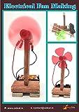 StepsToDo Electrical Fan Making Kit | Do It Yourself Science Kit | STEM Learning Toy
