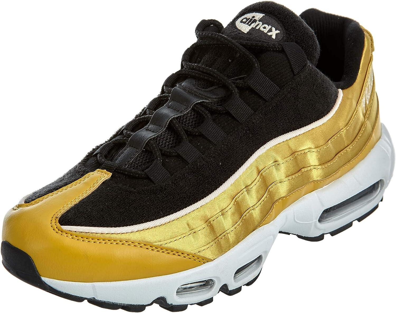 Nike Women's Air Max 95 LX Running Shoe 10 Gold