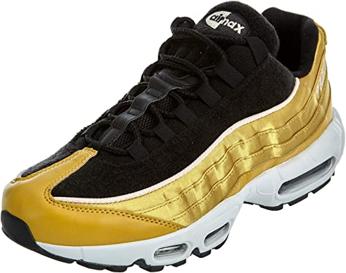 Nike Women's Air Max 95 LX Running Shoe 10 Gold