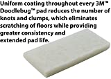"3M Doodlebug Cleaning Pad 8440 White 4.625"" x"