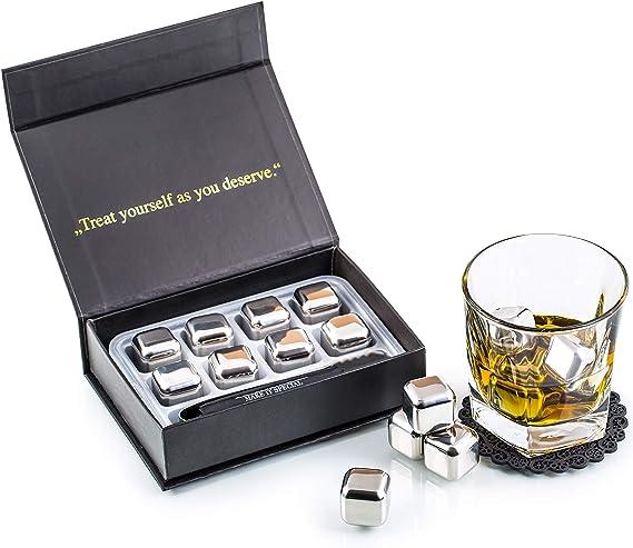Compra Exclusivo Whisky Piedras Set de Regalo de Acero Inoxidable ...