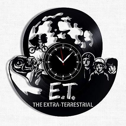 Surprising Amazon Com E T The Extra Terrestrial Vinyl Record Clock Download Free Architecture Designs Rallybritishbridgeorg