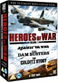 Heroes of War Vol 1 (Dambusters, The/Against The Wind/Colditz Story) [DVD]