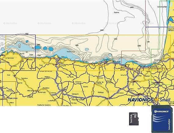 Navionics Plus Small MicroSD/SD Cariño - Cabo Bretón: Amazon.es: Deportes y aire libre