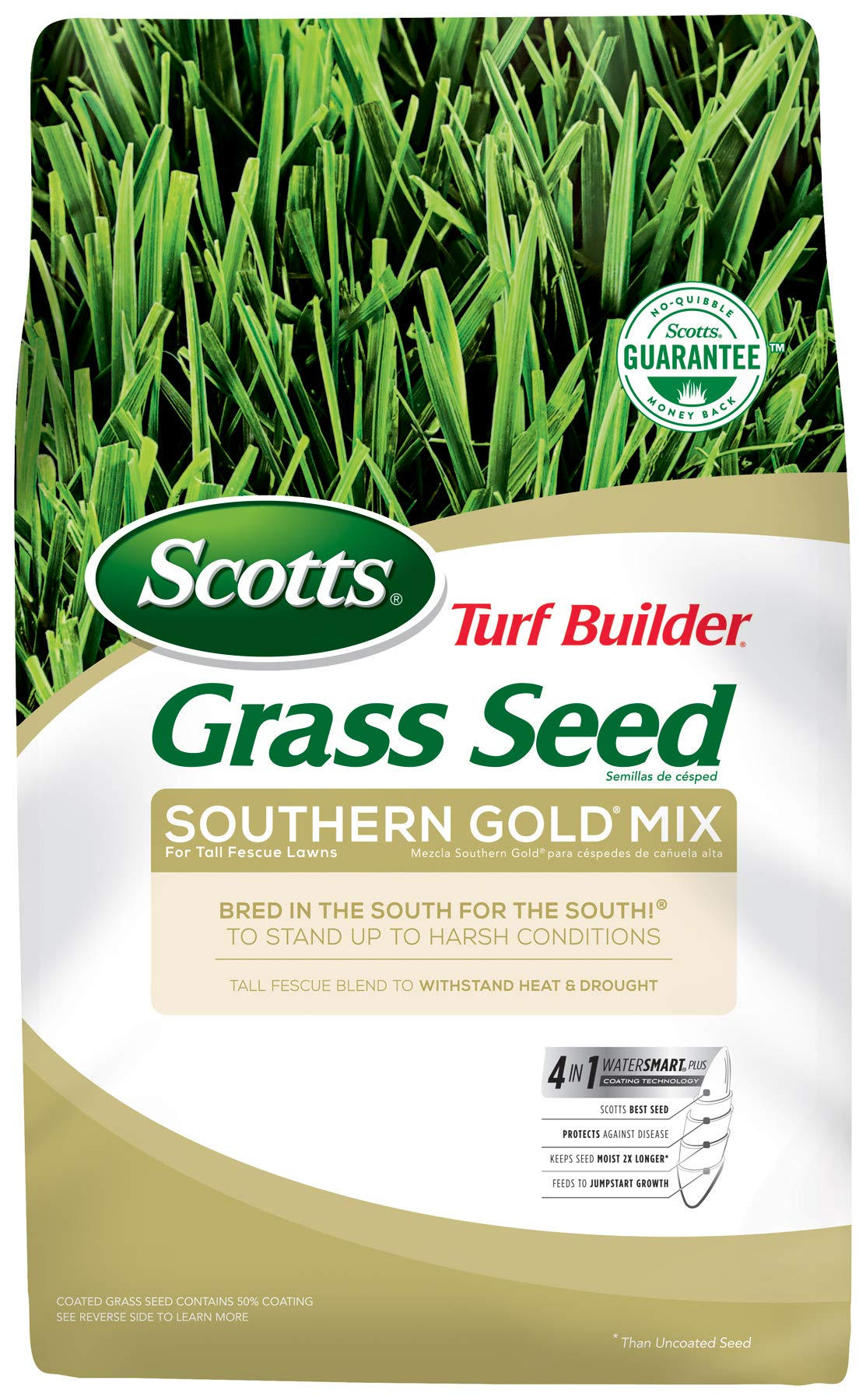 Scotts Turf Builder Grass Seed - Southern Gold Mix for Tall Fescue Lawns, 20-Pound (Sold in select Southern states)