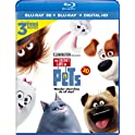 The Secret Life of Pets (Blu-ray 3D + Blu-ray + DVD + Digital Download)