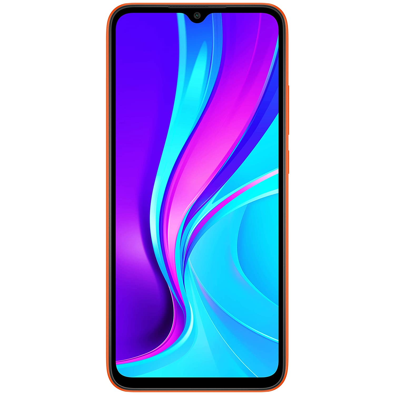 Redmi 9 (Sporty Orange, 4GB RAM, 64GB Storage) | 3 Months No Cost EMI on BFL