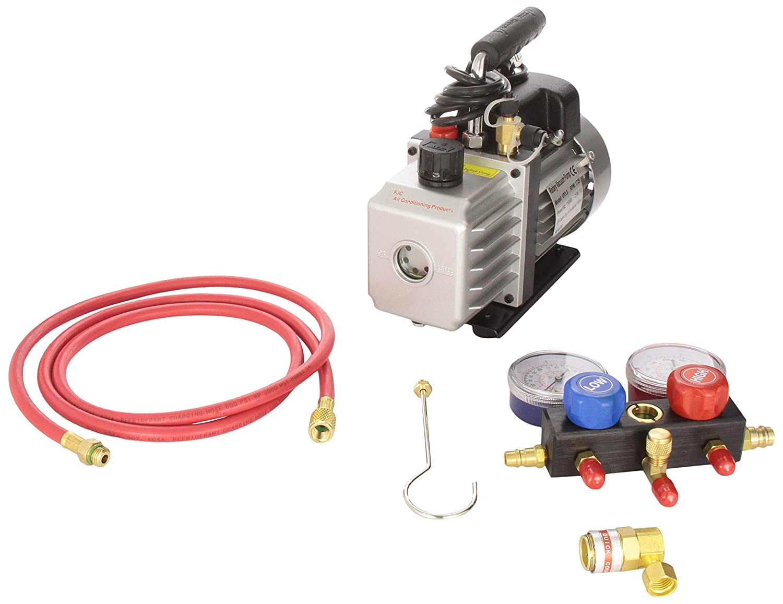 FJC KIT6 Vacuum Pump and Gauge Set
