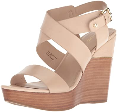 7965823ababb ALDO Women s Faustina Wedge Sandal Bone 5 ...