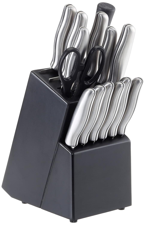 Compra Bloque 15 teilig cuchilla de acero inoxidable: 1 ...