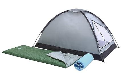 Bestway Campak - Set tienda de campaña para 2 personas, montaje varillas, 2 sacos