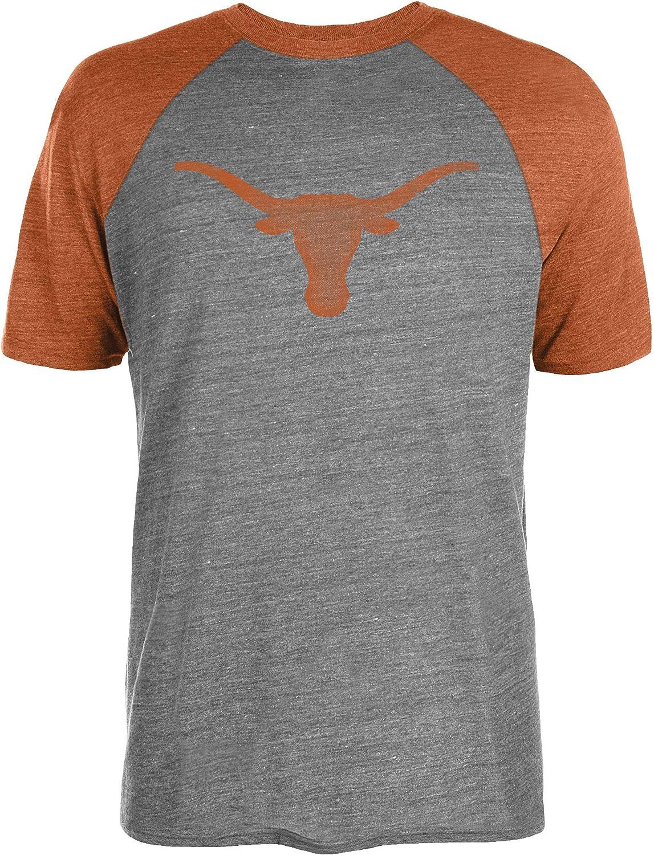University of Texas Authentic Apparel NCAA Mens Mens Raglan Tee