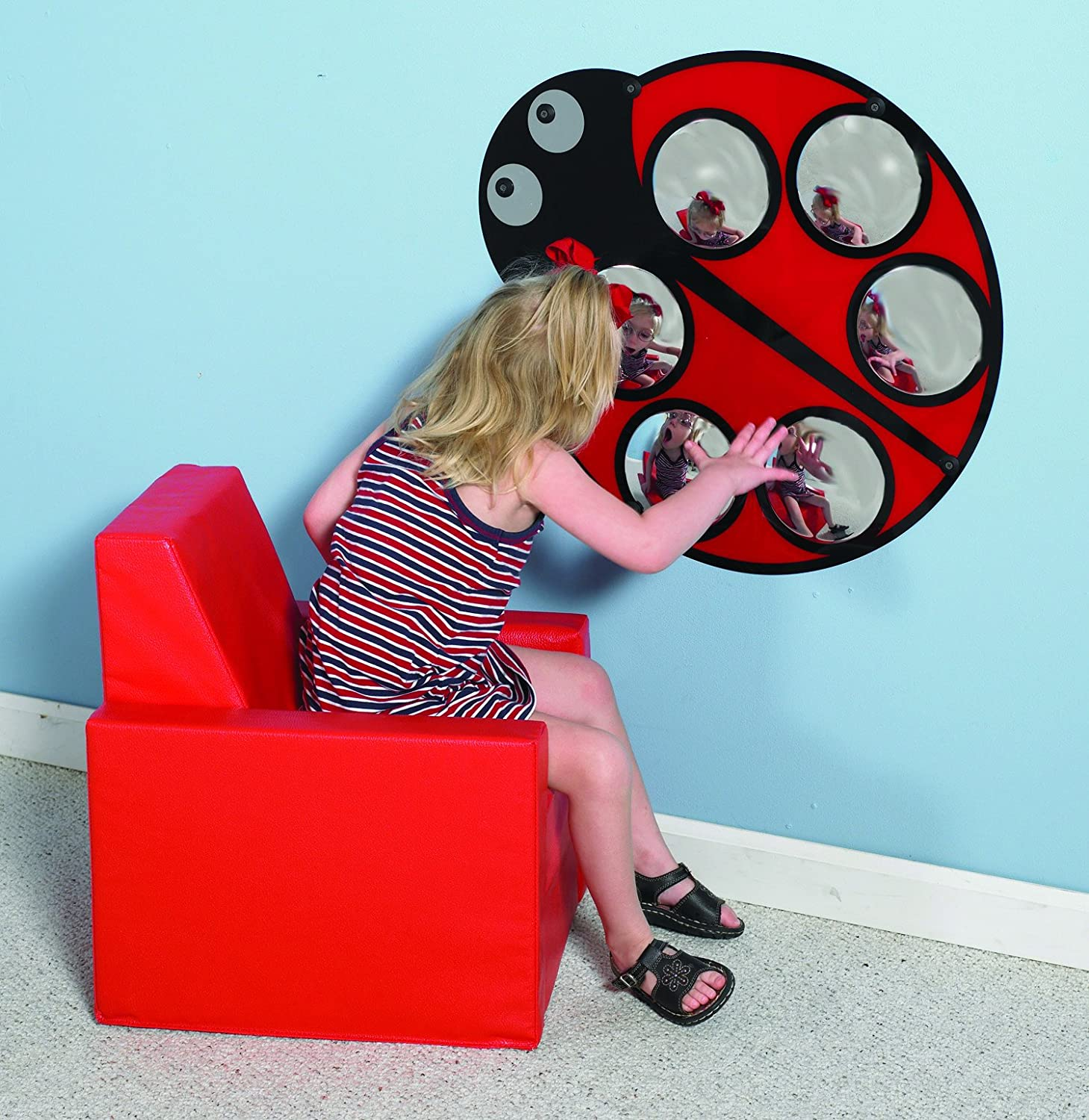 Lilly The Ladybug Mirror by Children's Factory   B003BL9PYM
