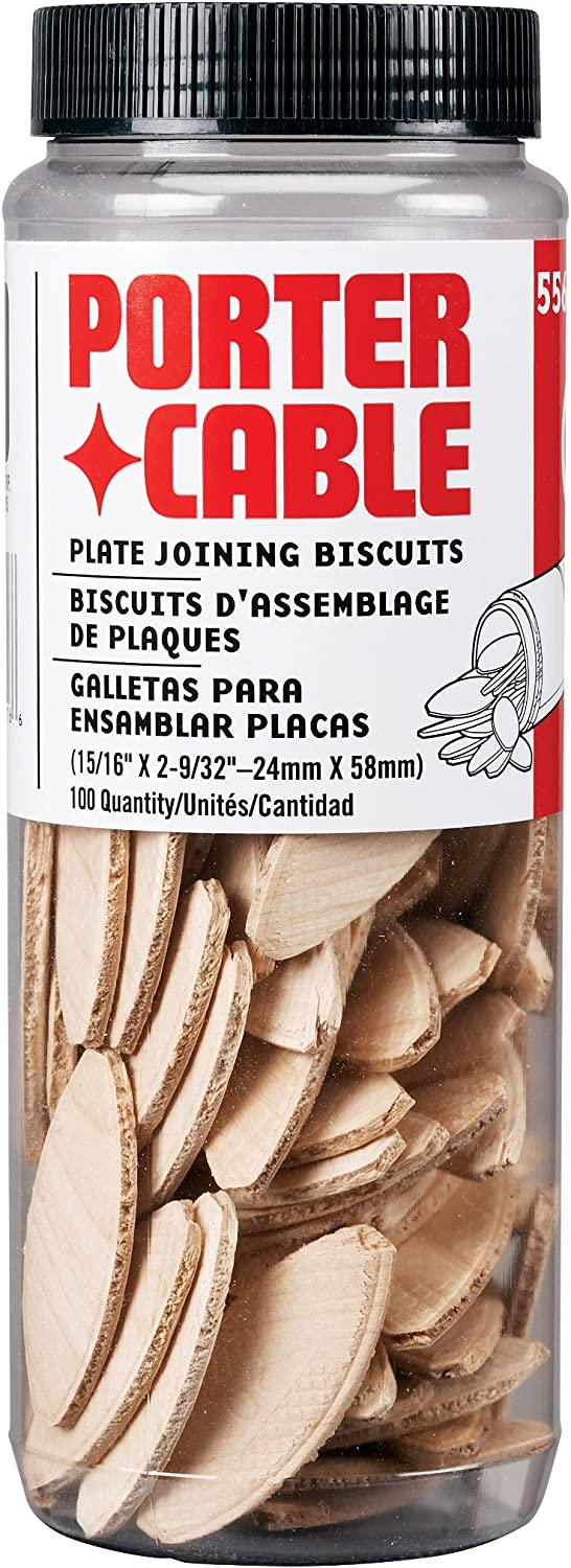 BOX OF 1000 PORTER CABLE 5553-BOX PORTER CABLE SIZE-20 JOINING BISCUITS