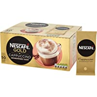 Nescafe Cappucino Instant Coffee Sachets One Cup Ref