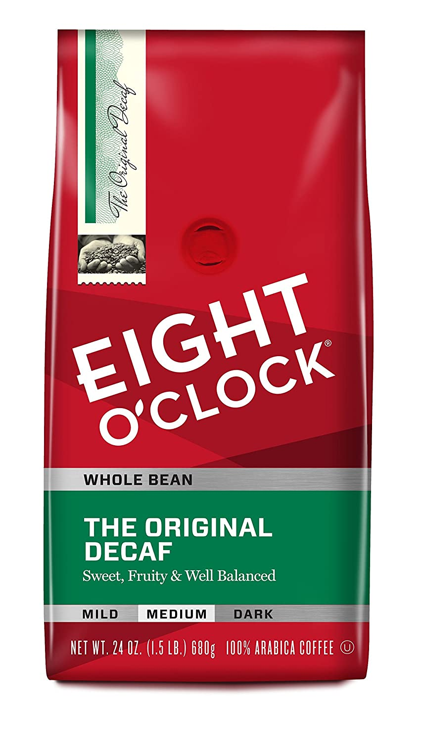 Eight O'Clock The Original Decaf