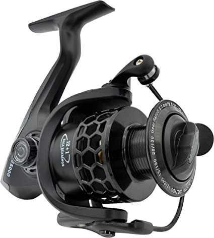 FISHDROPS 12+1BB Full Metal Fishing Spinning Reel with Exchangeable Handle
