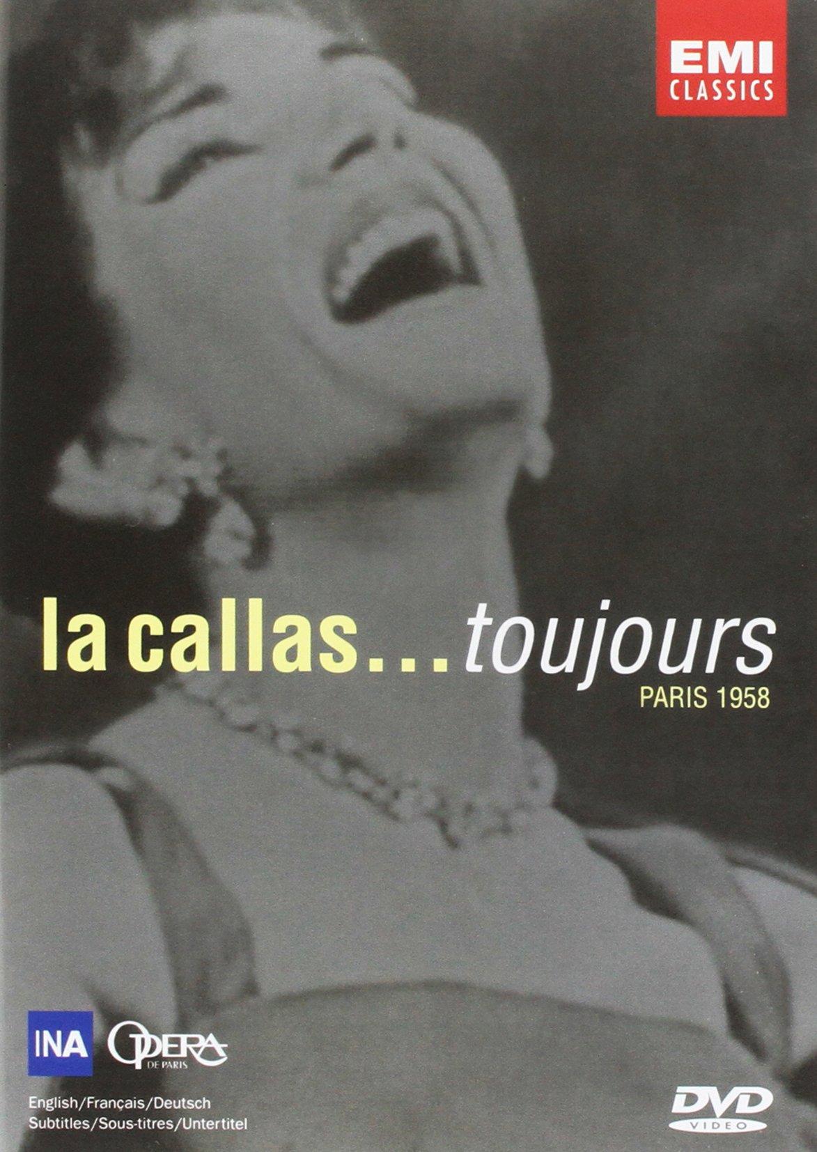 DVD : Maria Callas - Toujours Paris 1958 (DVD)