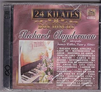 Richard Clayderman - 24 Kilates: Richard Clayderman - Amazon ...
