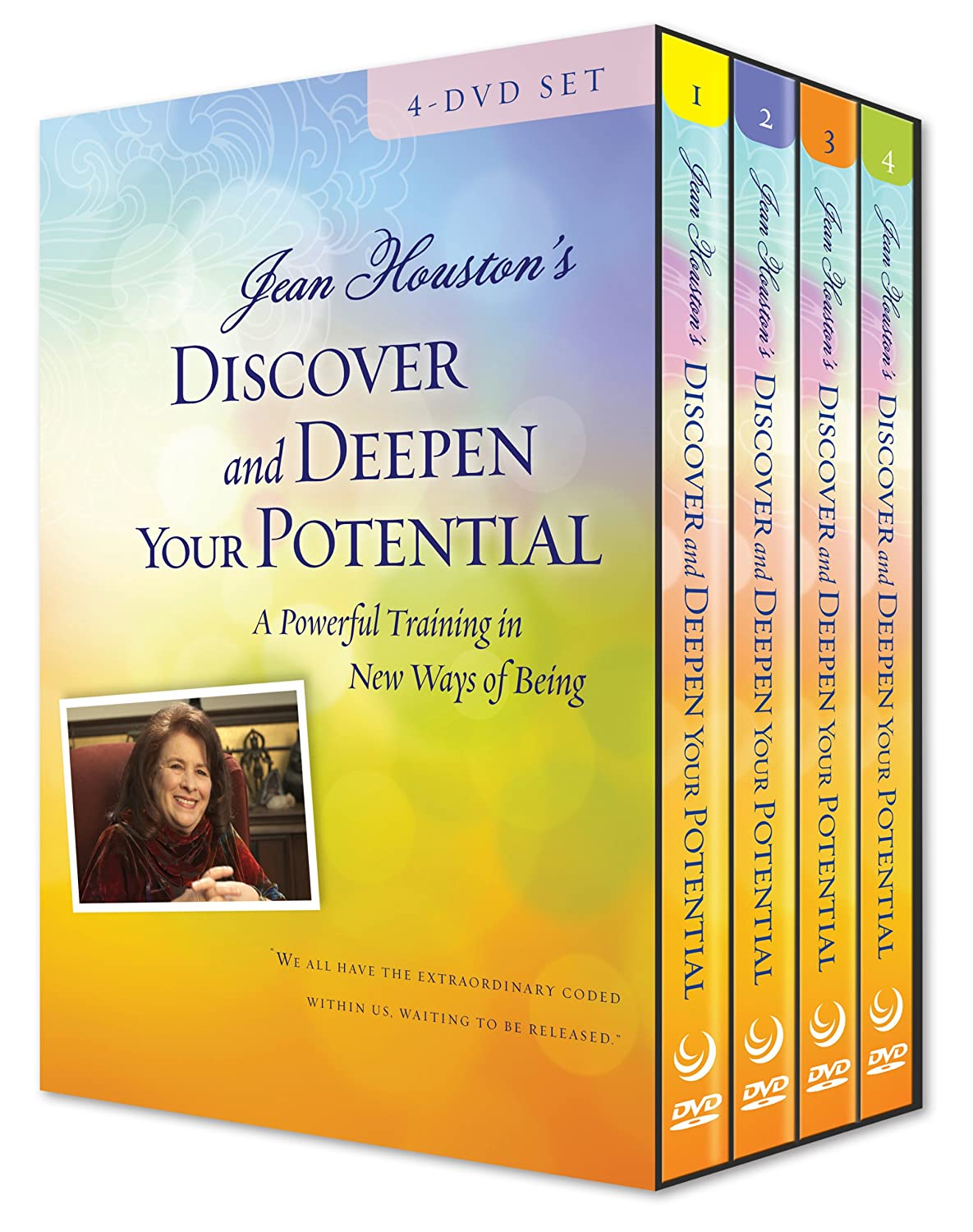 Amazon.com: Discover and Deepen Your Potential - 4 DVD Set: Jean Houston:  Movies & TV