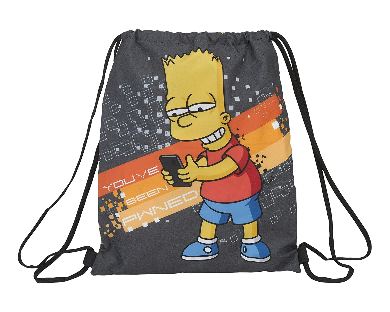The Simpsons Technology Sac plat (officiel), Grand Sac plat Safta 611705196