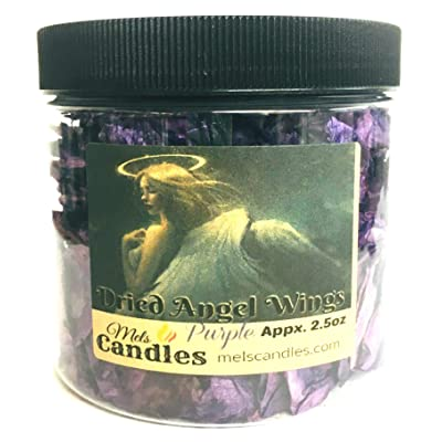16 Ounce Container of Angel Wings (Purple) : Garden & Outdoor