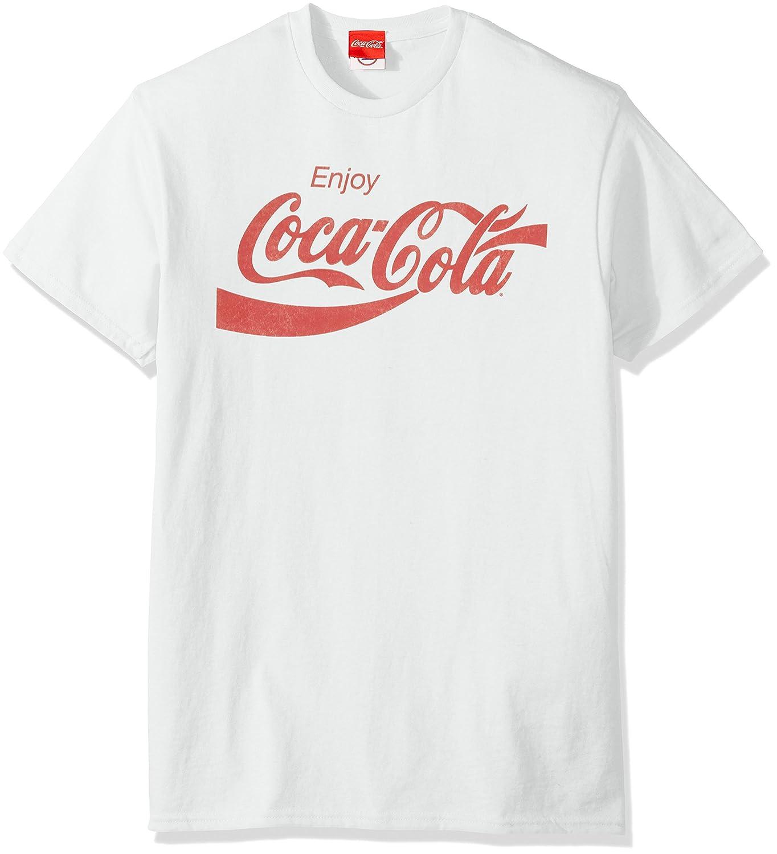 532c7d150a83c Coca-Cola Men s Eighties Coke Short Sleeve T-Shirt  Amazon.in  Clothing    Accessories