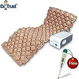 Dr Trust Air Mattress Anti Decubitus Air Pump & Bubble Mattress For Prevention Of Bed Sores (Beige)