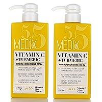 Medix 5.5 Vitamin C Cream w/Turmeric for face and body. Firming & brightening cream...