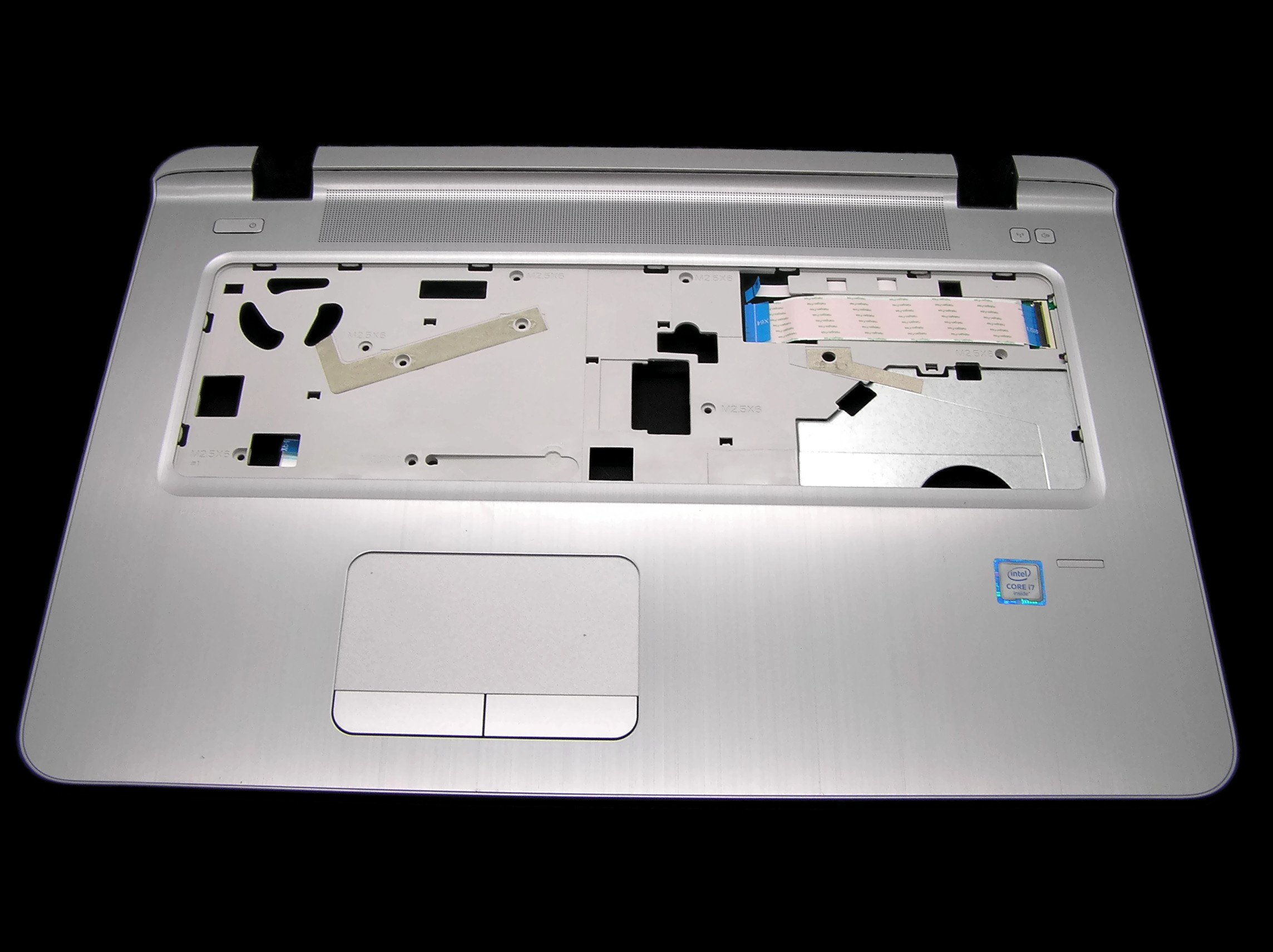 New Genuine HP Probook 470 G3 Series17.3 Touchpad Palmrest 827036-001 by for HP (Image #1)