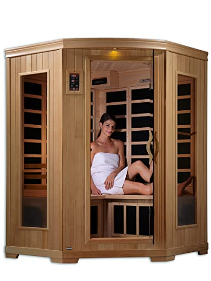 DYNAMIC SAUNAS AMZ GDI 62 35 01 Luxury 2 Corner Low EMF