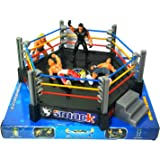 DPNY WWE Action Figures Smack Down RAW Wrestler Superstar Fight Ring