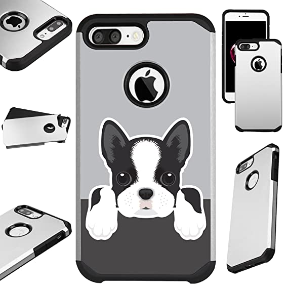 Phone Pouch Boston Terrier Watercolor Hard Cover For Iphone 5 5s Se 6 6s Plus 7 7plus 8 8plus Bulldog Phone Case For Iphone X Phone Bags & Cases