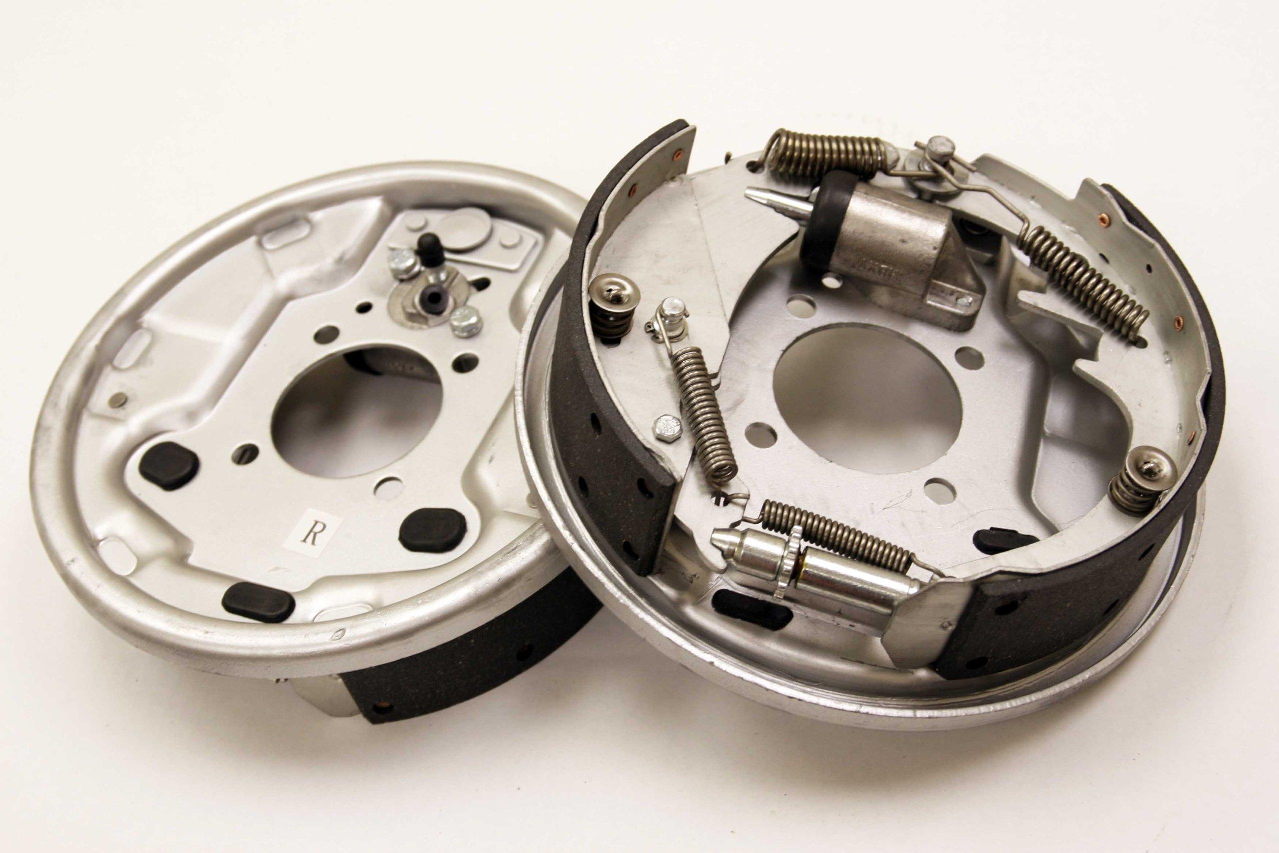 New 10'' x 2-1/4'' Trailer Hydraulic Free Backing Marine Brake Assembly Pair Set - 21016 by Highton