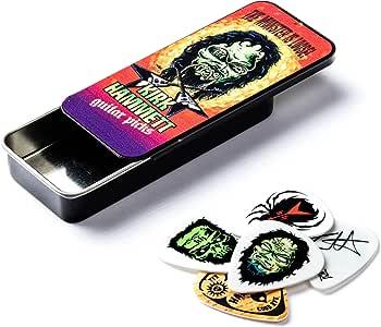 Dunlop KH01T088 Kirk Hammett Monster Pick Tin, Assorted.88mm, 6 Picks/Tin