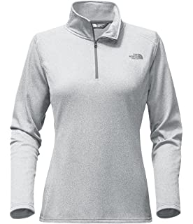 3eebf3a36b99b The North Face Women s Tech Glacier 1 4 Zip Fleece (TNF Light Grey Heather