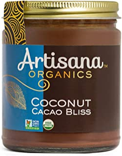 product image for Artisana Organics Non GMO Coconut Cacao Bliss Spread (1 Pack (8 oz))