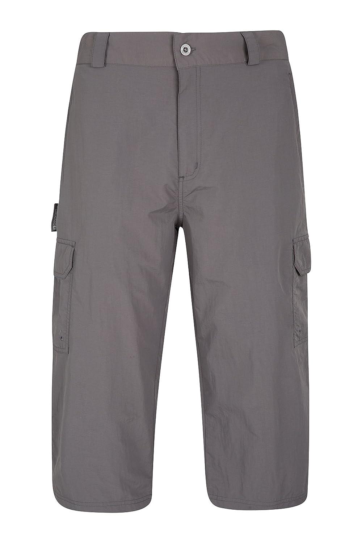 Mountain Warehouse Explore Mens Long Shorts - Summer Hiking Shorts