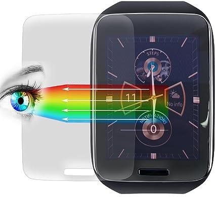 Proto Max Protector De Pantalla Para Samsung Galaxy Gear S, protector de pantalla accesorios Smart Watch/Wearable/Fitness Tracker, Screen Protector – ...