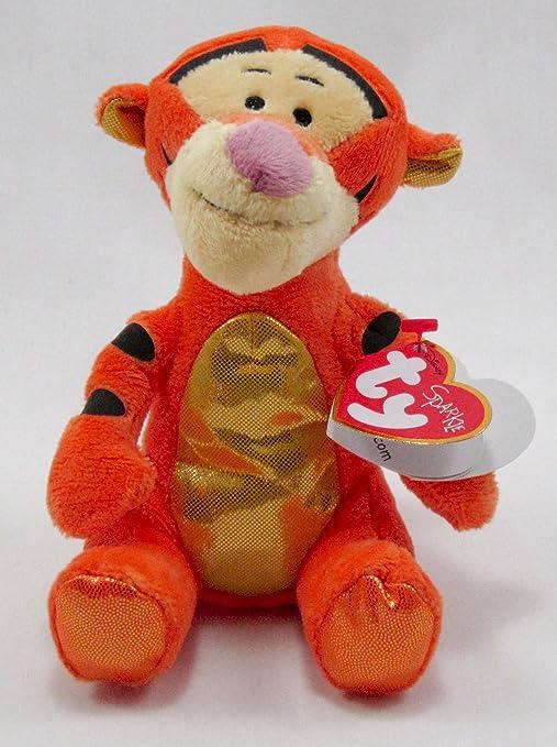 Amazon.com  Ty Beanie Babies Tigger Sparkle Plush  Toys   Games 28cb713dfbd