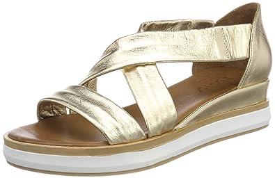 Inuovo Damen 8956 Peeptoe Sandalen, Gold (Gold), 41 EU