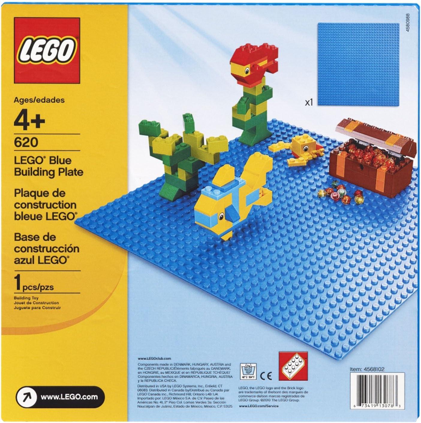 LEGO Blue Building Plate (10 x 10) by LEGO: Amazon.es: Juguetes y juegos