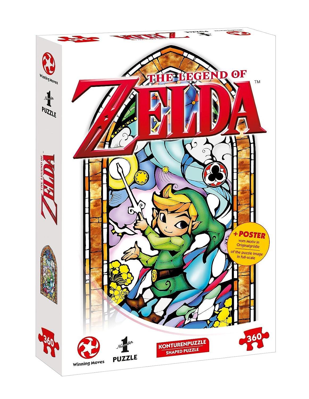 A Ins Puzzle de Aventura con The Legend of Zelda–The Wind Waker (360Piezas, Incluye póster de la Escena En tamaño Original) Wiining Moves 11361