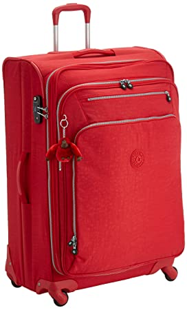 Kipling - YOURI SPIN 78-99 Litros - Trolley - Vibrant Red - (Rojo): Amazon.es: Equipaje