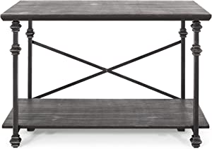 Christopher Knight Home Renee Coffee Table, Gray, Pewter