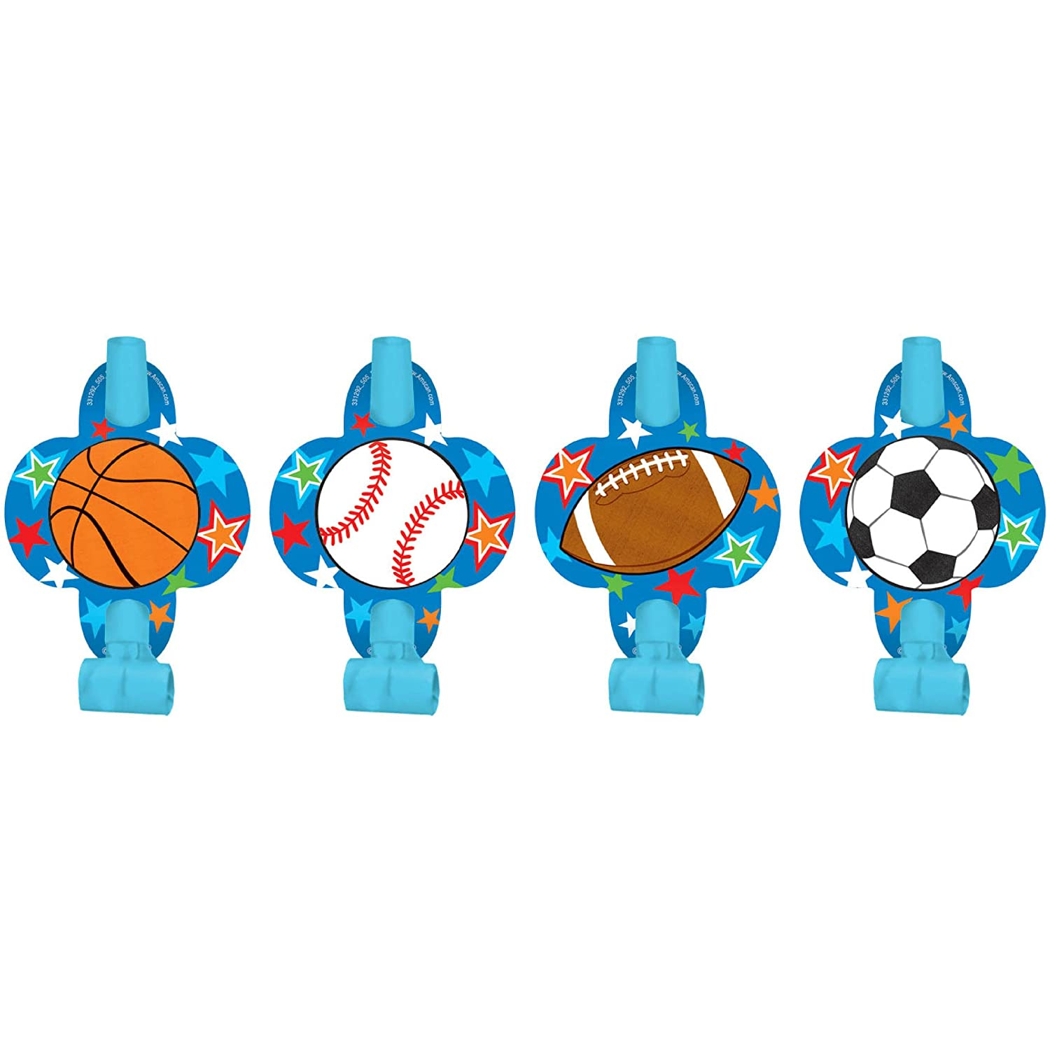 Blowouts |Superstar Ball Sports Collection 144 Ct 331292 Party Accessory TradeMart Inc