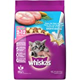 Whiskas Dry Cat Food, Junior Ocean Fish for Kittens, 450 g