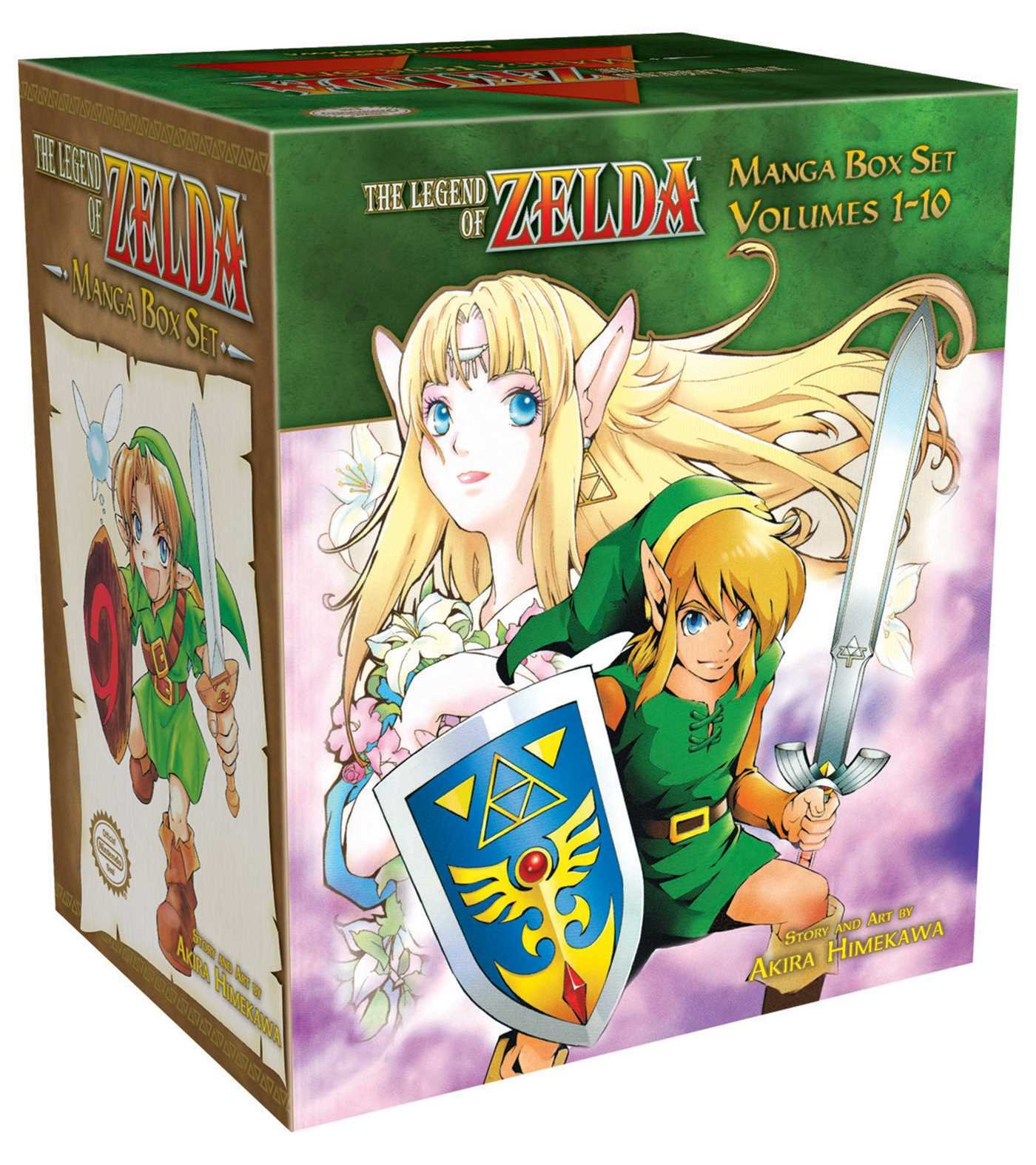 The Legend of Zelda Box Set by VIZ Media - Children's