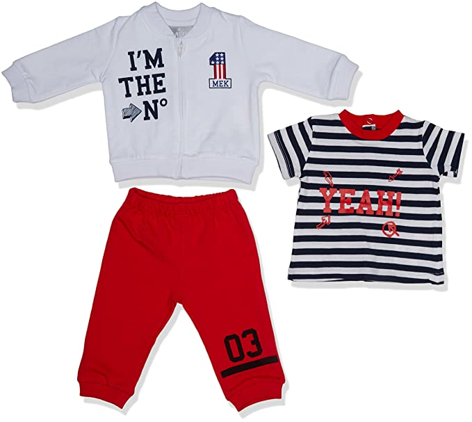 MEK Baby-Jungen Bekleidungsset